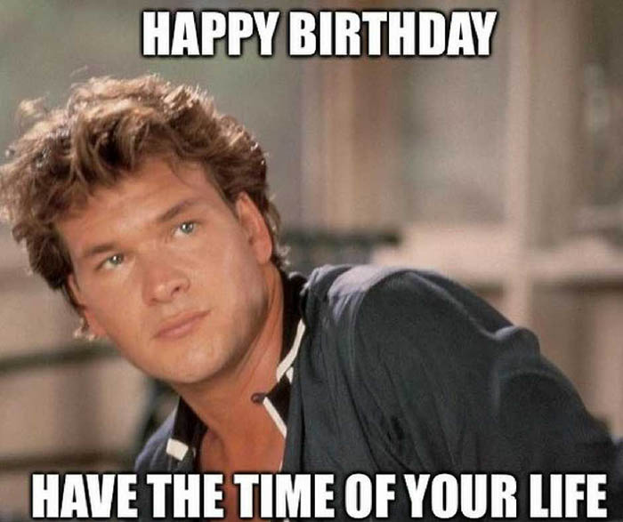 funny happy birthday friend meme for her