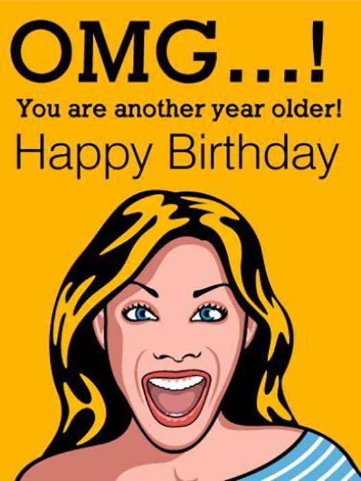 funny happy birthday friend meme for woman