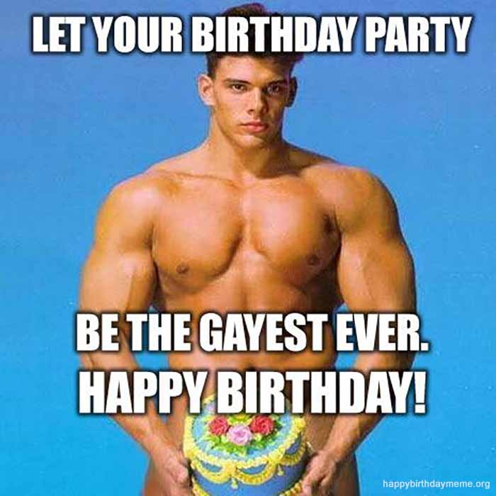 gay happy birthday memes