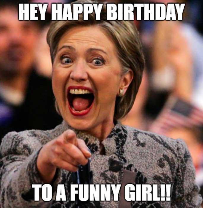 happy birthday friend meme for her