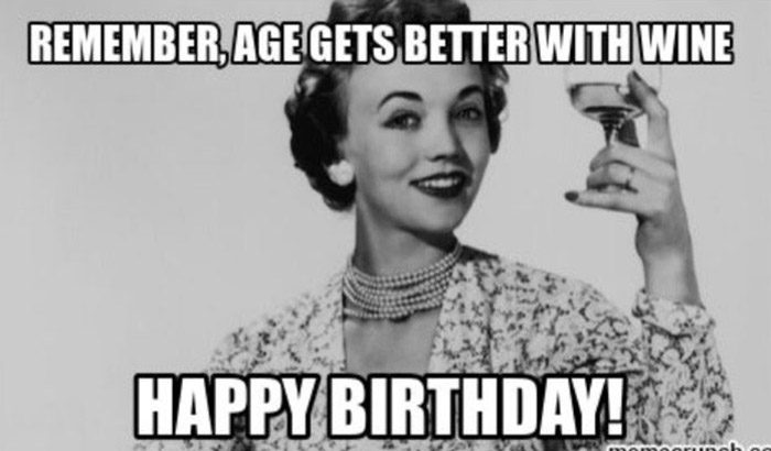 happy birthday meme for her classy woman