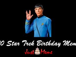 20 Star Trek Birthday Meme