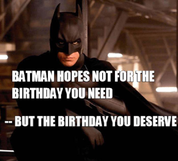 Funny Batman Birthday Memes
