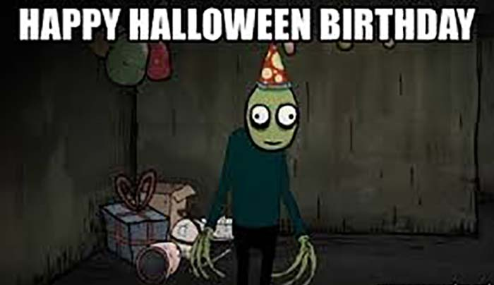 Happy Halloween Birthday