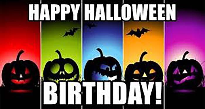 Happy Halloween Birthday!