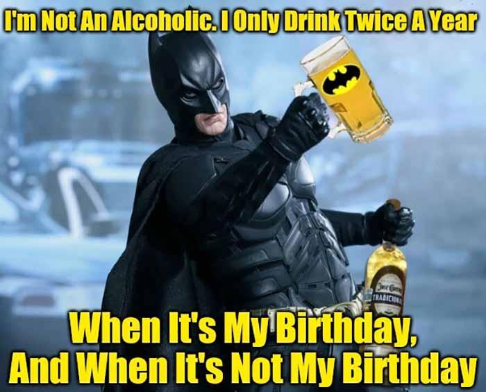 funny batman birthday meme