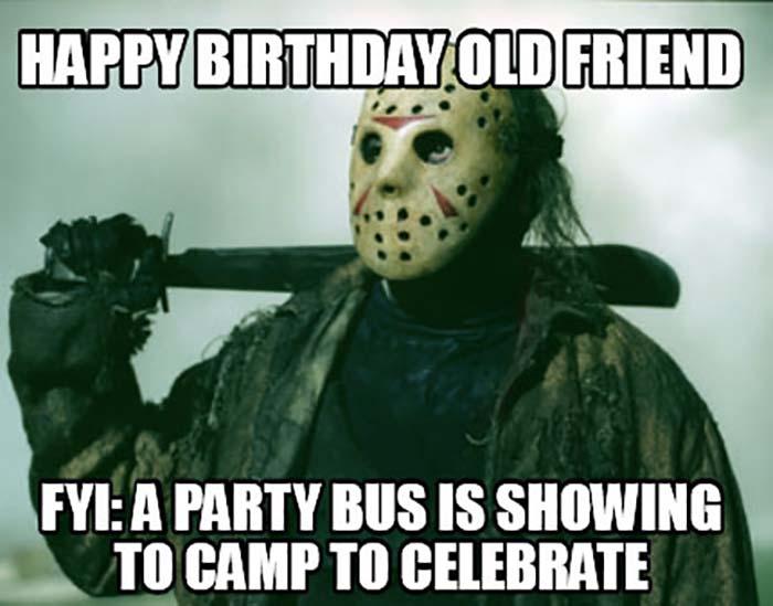 funny happy birthday halloween meme