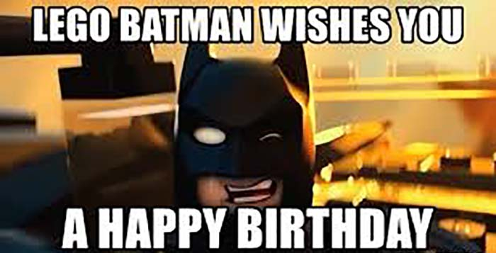 lego batman wishes a happy birthday