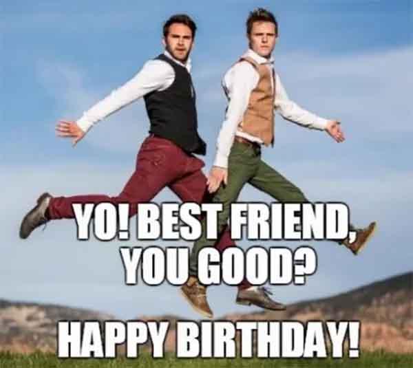 Birthday Friend Meme