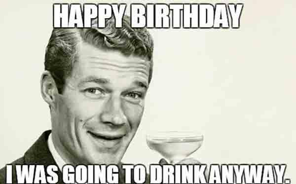retro birthday memes for men