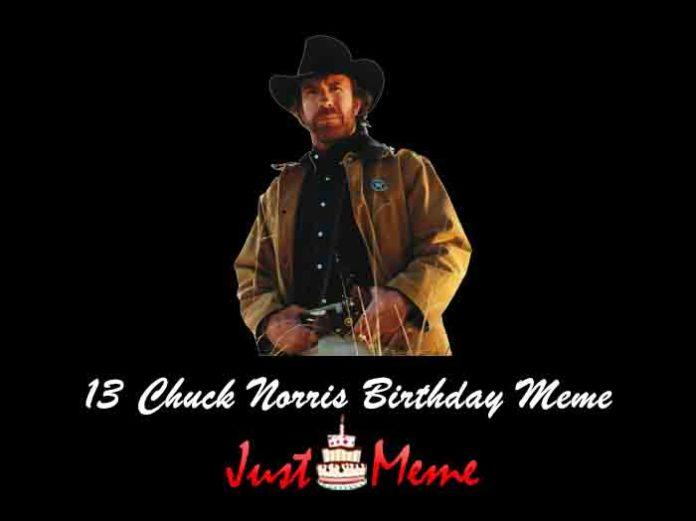 13 Chuck Norris Birthday Meme
