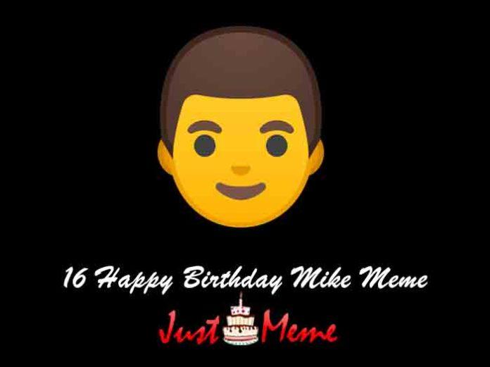 16 Happy Birthday Mike Meme