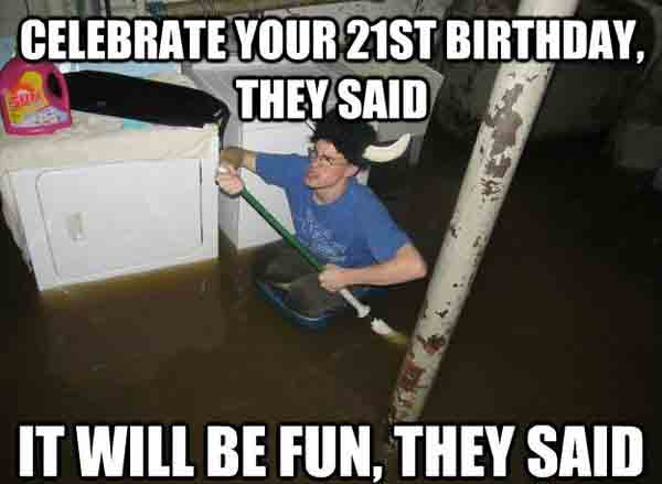 21st birthday meme for guys