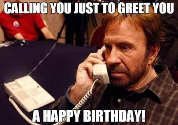 birthday meme chuck norris