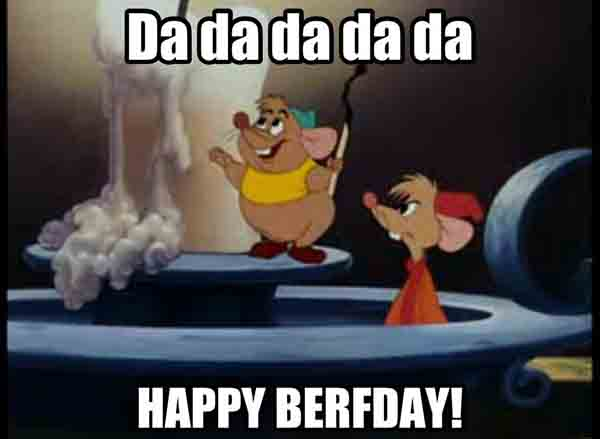 birthday meme disney