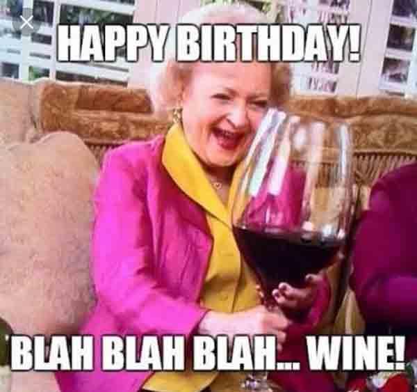 birthday wine meme
