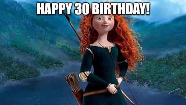 disney 30 birthday meme