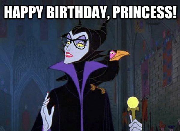 disney princess happy birthday meme