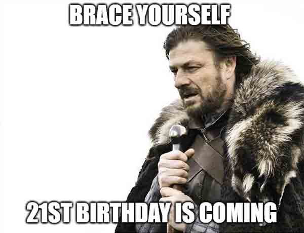 happy birthday 21st meme