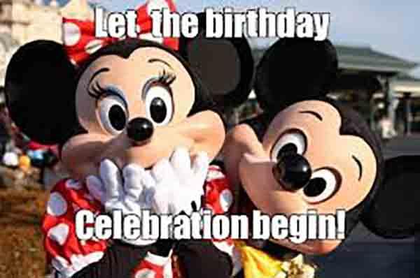 happy birthday disney meme
