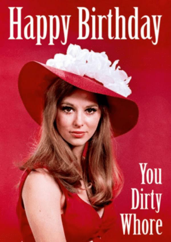 happy birthday meme dirty girl