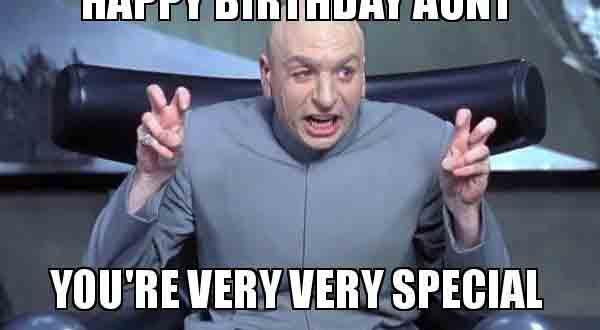 happy birthday meme for aunt