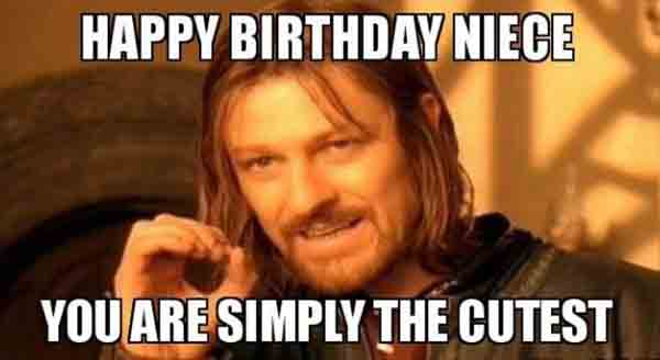 happy birthday meme for niece