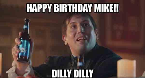 happy birthday meme mike