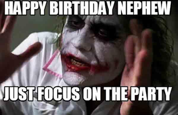 happy birthday meme nephew
