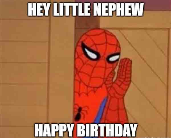happy birthday nephew meme super heroes