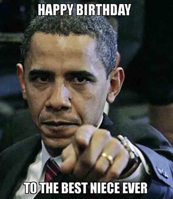 happy birthday niece funny meme