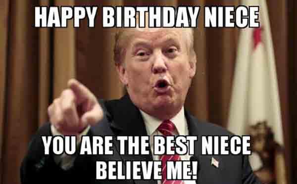 happy birthday niece meme funny