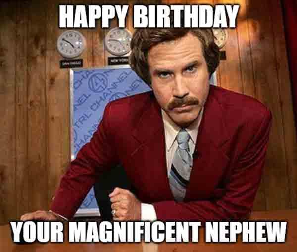 happy birthday to nephew meme