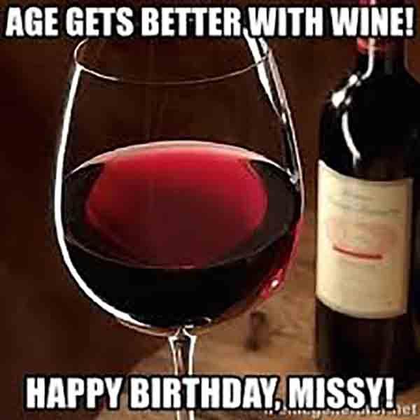 happy wine birthday meme