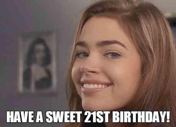 sweet brown 21st birthday meme