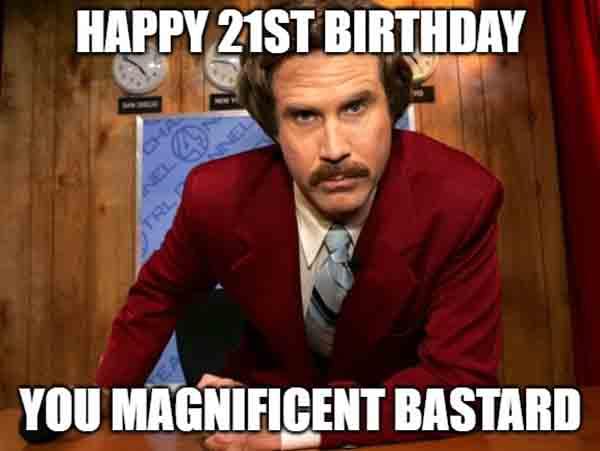 will ferrell 21st birthday meme