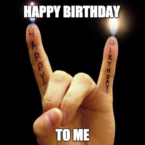 funny happy birthday meme to someone amazing like me