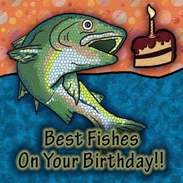 happy birthday fishing meme funny