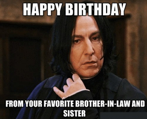 happy birthday meme sister in law