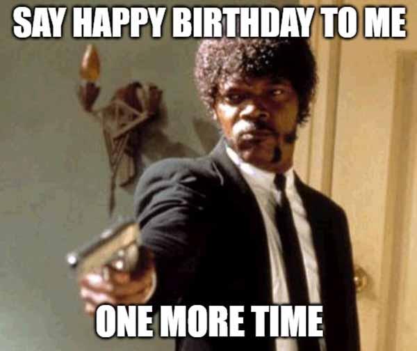 happy birthday meme to me