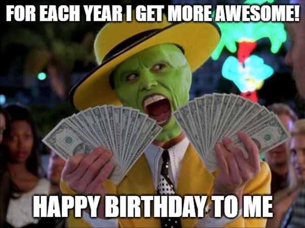 happy birthday to me meme