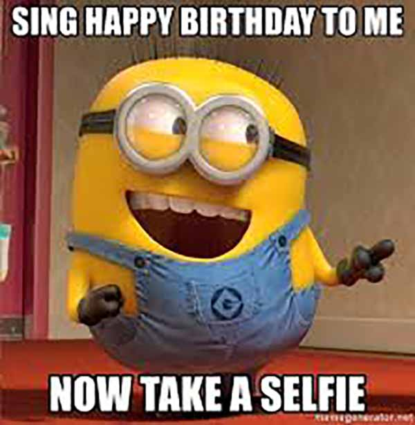 minions happy birthday to me meme